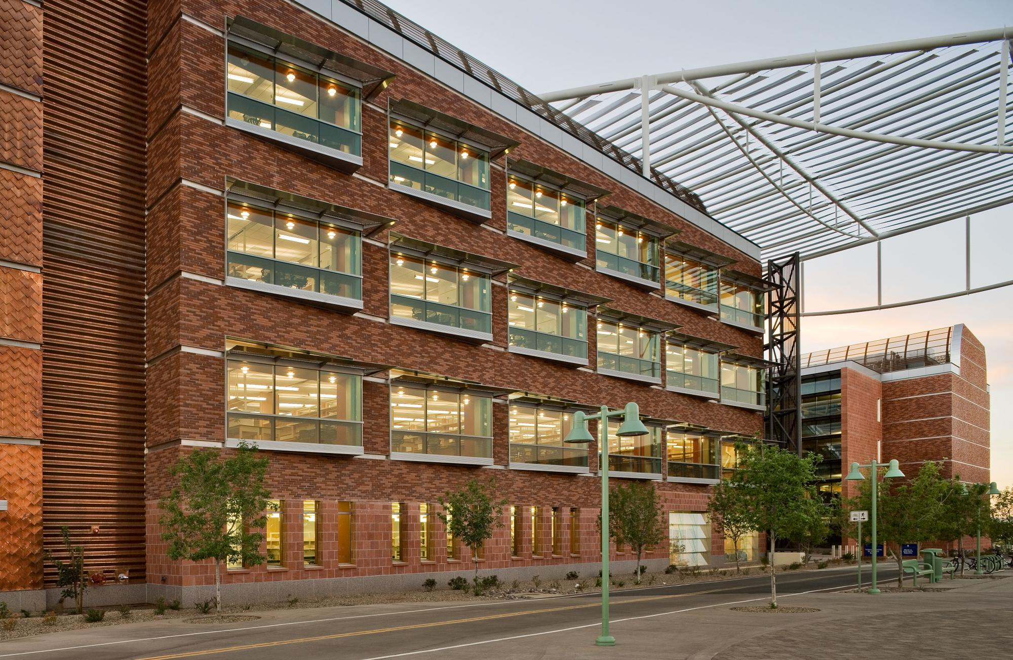 Picture of Thomas W. Keating Bioresearch building